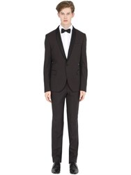 Manuel Ritz Stretch Polka Dot Jacquard Tuxedo Suit