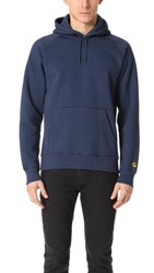 Carhartt Wip Chase Hoodie Blue Gold