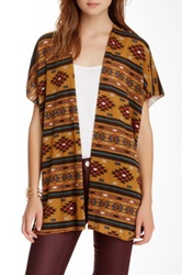 Hip Aztec Print Open Cardigan Juniors Multi