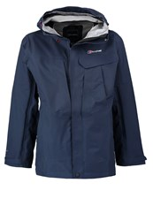 Berghaus High Trails Hardshell Jacket Dusk Dark Blue