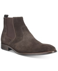 Bar Iii Men's Carson Chelsea Boots Only At Macy's Men's Shoes Brown