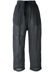 Damir Doma 'Pae' Cropped Trousers Black
