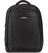 Samsonite Pro Dlx 4 Leather Backpack Black