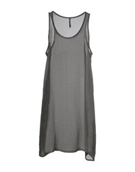 Liviana Conti Dresses Short Dresses Women Grey
