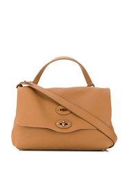 Zanellato Postina Tote Bag Brown