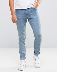 Weekday Friday Skinny Jeans Instant Blue Instant Blue 75 101