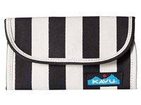 Kavu Big Spender Black White Stripe Wallet Handbags