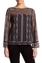 Nanette Lepore Misty Morning Blouse Black