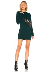 Cotton Citizen Tokyo Mini Dress Dark Green