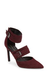 Pelle Moda Women's Drift Pump Dark Cherry Leather