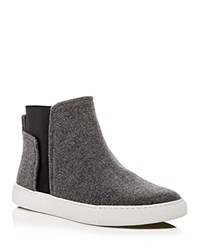 Kenneth Cole Ken High Top Sneakers Light Gray