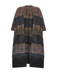 Raquel Allegra Striped Tie Dye Cardigan