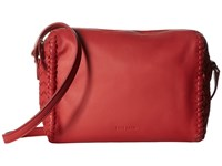 Cole Haan Dillan Crossbody Mineral Red Cross Body Handbags