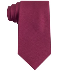 Club Room Spartan Solid Tie Burgundy