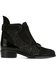 Preen By Thornton Bregazzi 'Rourke' Ankle Boots Black