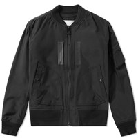 White Mountaineering Cordura Ma 1 Jacket Black