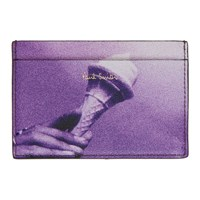 Paul Smith Purple Paul's Photo Ice Cream Card Holder