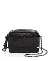 Sjp By Sarah Jessica Parker King Quilted Crossbody Black