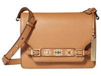 Vince Camuto Abra Crossbody Chestnut Brown Cross Body Handbags