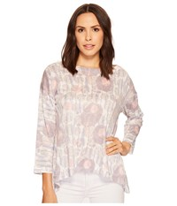 Nally And Millie Printed Boxy Top Multi Clothing