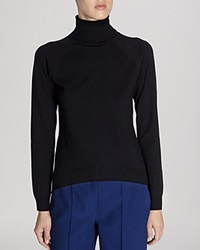 Karen Millen Sweater Back Detail Turtleneck Black