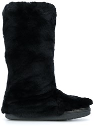 Mr And Mrs Italy Flat Boots Black