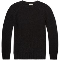 Dries Van Noten Tim Crew Knit Grey