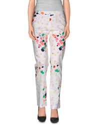 Galitzine Trousers Casual Trousers Women White