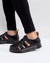 Dr. Martens Dr Vibal Closed Sandals In Black