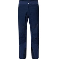 Kjus Freelite Stretch Knit And Canvas Panelled Ski Trousers Blue