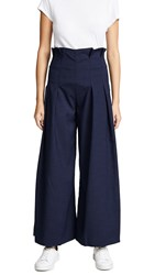 Paper London Solo Trousers Midnight