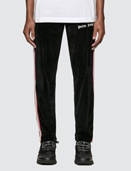 Palm Angels Chenille Track Pants Black