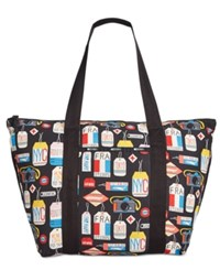 Le Sport Sac Lesportsac Large On The Go Tote Boarding Pass