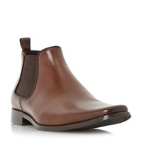 Dune Arkwrights Square Toe Chelsea Boot Tan