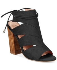 Call It Spring Asadolla Block Heel Sandals Women's Shoes Black