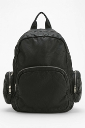 Silence And Noise Silence Noise Montrose Vegan Leather Backpack Black