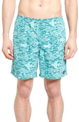 Patagonia Men's Baggies Longs Swim Trunks Gem Green