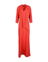 Compagnia Italiana Long Dresses Red