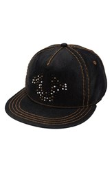 True Religion Men's Brand Jeans Stud Horseshoe Baseball Cap
