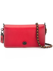 Coach Dinky Crossbody Bag Red