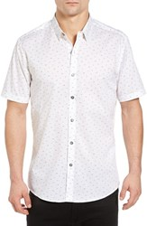 7 Diamonds Men's Indian Summer Slim Woven Shirt