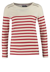 Little Marcel Traverserie Long Sleeved Top Ecru Off White