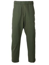 Barena Drop Crotch Trousers Green