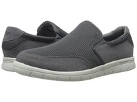 Dockers Antigua Charcoal Mesh Distressed Men's Slip On Shoes Gray