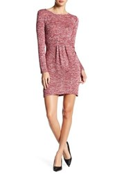 Just For Wraps Hacci Sweater Dress Red