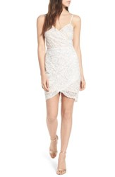 Lush Lace Minidress Ivory