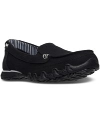 Skechers Women's Relaxed Fit Bikers Motoring Boat Loafer Casual Sneakers From Finish Line Black
