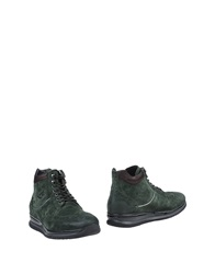 Barracuda Ankle Boots Green