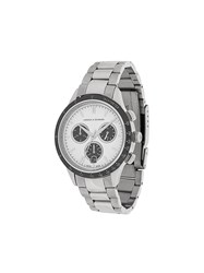 Larsson And Jennings Rally Silver 3Link 38Mm Watch