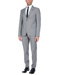 Eredi Del Duca Suits Grey